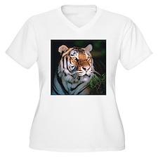 Tiger At Night T-Shirt