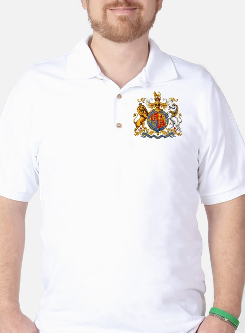 Royal Coat Of Arms Golf Shirt