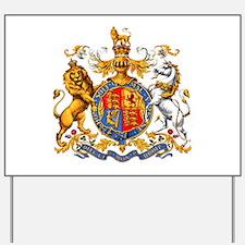 Royal Coat Of Arms Yard Sign