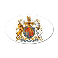 Royal Coat Of Arms Wall Decal