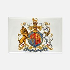 Royal Coat Of Arms Rectangle Magnet
