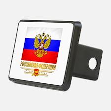 Russian Flag COA Hitch Cover