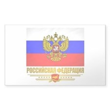 Russian Flag COA Decal