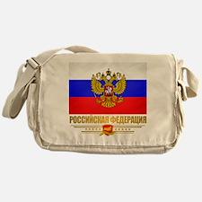 Russian Flag COA Messenger Bag