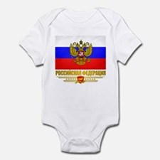 Russian Flag COA Infant Bodysuit
