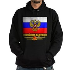 Russian Flag COA Hoodie