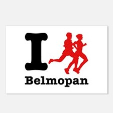 I Run Belmopan Postcards (Package of 8)