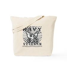 USN Navy Eagle Chiseled Tote Bag