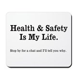 Health and safety mousepad Classic Mousepad