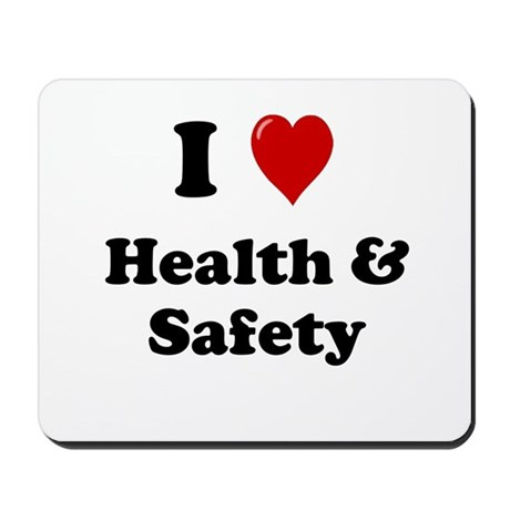 Health And Safety Officer Or Manager Mousepad By Officecelebrity