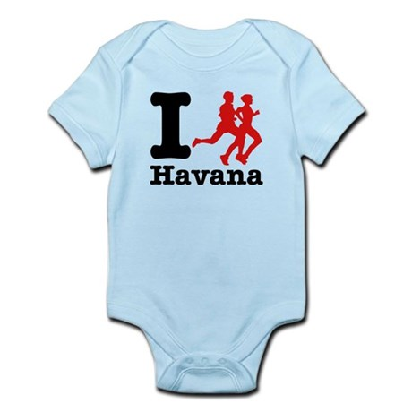 I Run Havana Infant Bodysuit