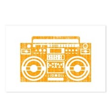 Old school boombox Postcards (Package of 8)