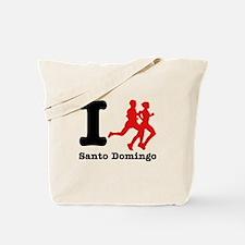 I Run Santo Domingo Tote Bag