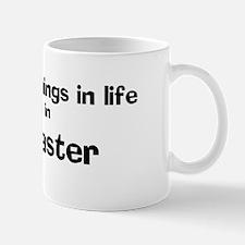 Lancaster: Best Things Mug