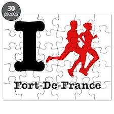 I Run Fort-De-France Puzzle