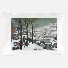 Hunters in the Snow Pillow Case