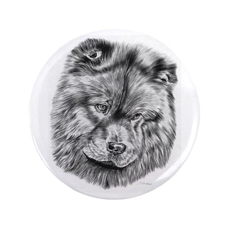 "Chow Chow 3.5"" Button (100 Pack)"
