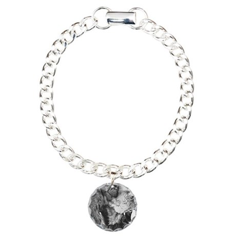 gordon setter Charm Bracelet, One Charm
