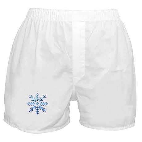 Snow Flake Boxer Shorts