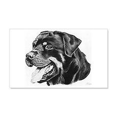 Rottweiler 22x14 Wall Peel