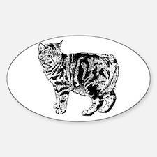 Manx Cat Decal