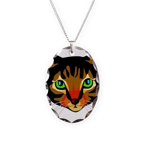 wmf_cat-033.wmf Necklace Oval Charm