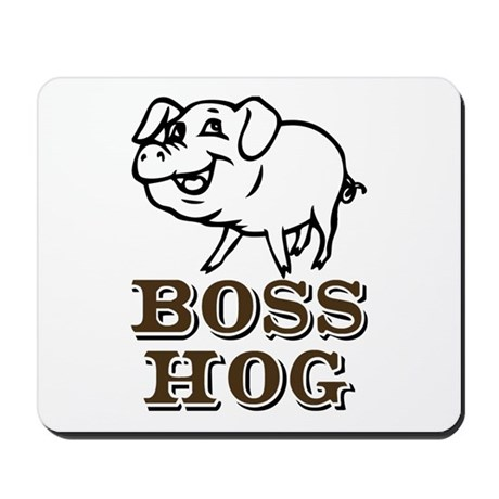 Boss Hog Mousepad