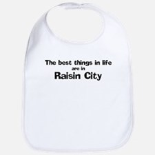 Raisin City: Best Things Bib