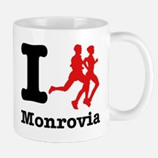 I Run Monrovia Mug