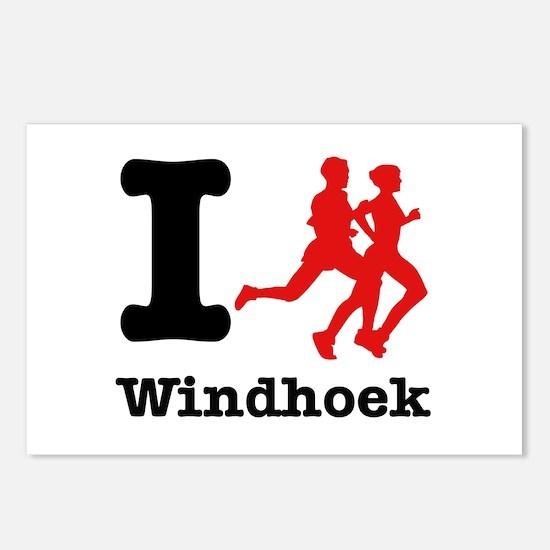 I Run Windhoek Postcards (Package of 8)