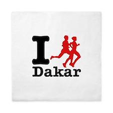 I Run Dakar Queen Duvet