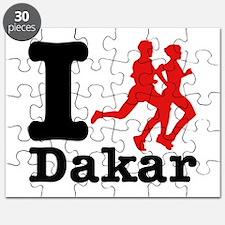 I Run Dakar Puzzle