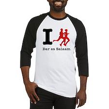 I Run Dar Es Salaam Baseball Jersey