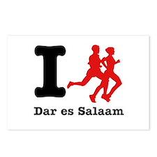 I Run Dar Es Salaam Postcards (Package of 8)