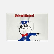 You Dont Like The U.S.? Rectangle Magnet