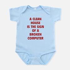 Broken Computer Infant Bodysuit