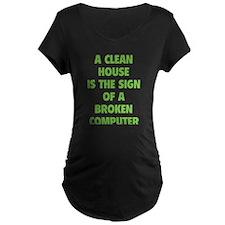Broken Computer T-Shirt
