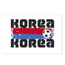 Korea Soccer Postcards (Package of 8)