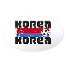 Korea Soccer Decal