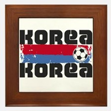 Korea Soccer Framed Tile