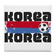Korea Soccer Tile Coaster