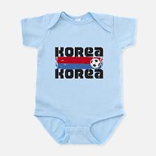Korea Soccer Infant Bodysuit