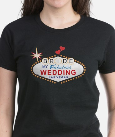 Vegas Bride Women's Dark T-Shirt