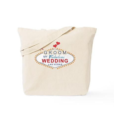 Las Vegas Groom Tote Bag