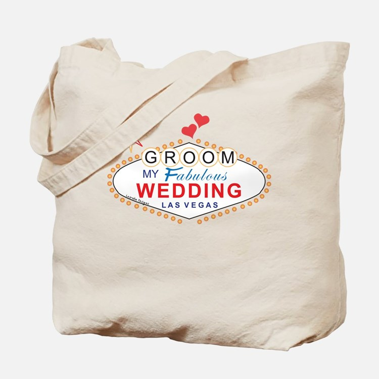 Las Vegas Groom Tote Bag