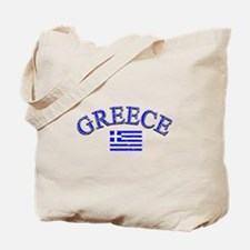 Greece Soccer Designs Tote Bag