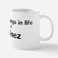 Martinez: Best Things Mug