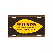 TB Wilson 020.JPG Aluminum License Plate