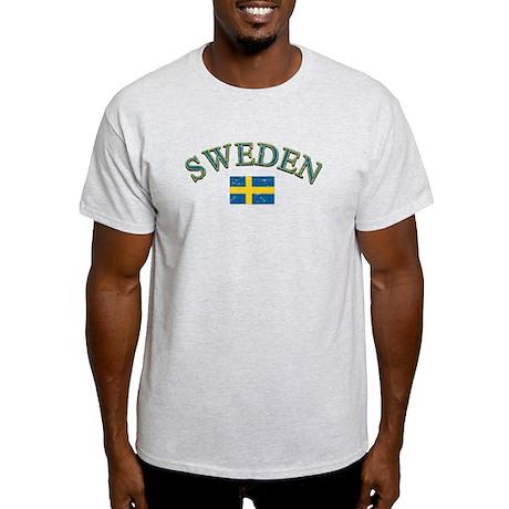 Sweden Soccer Designs Light T-Shirt