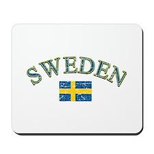 Sweden Soccer Designs Mousepad